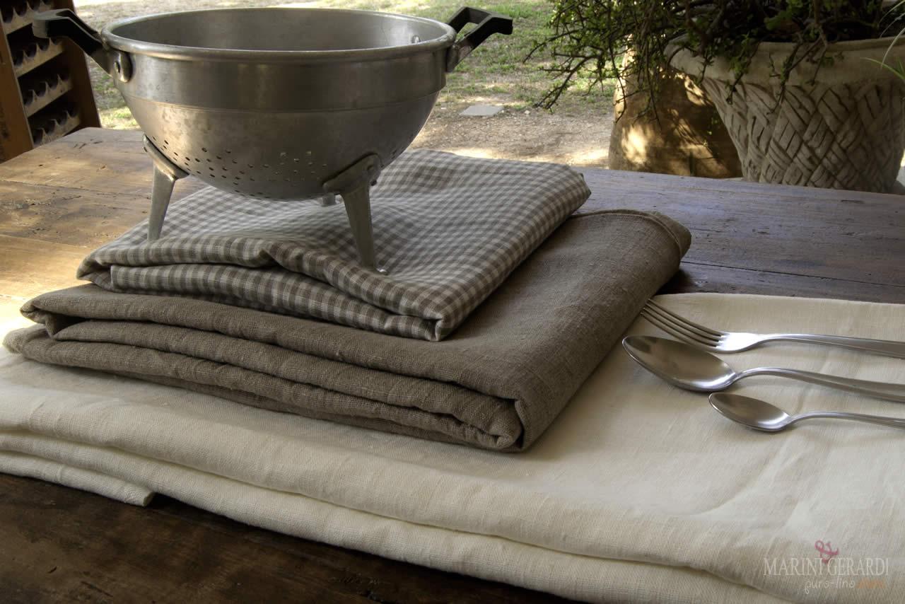 Tessuti Puro Lino Biancheria Arredo Casa lino 100% | Vendita On line Tessuti puro lino
